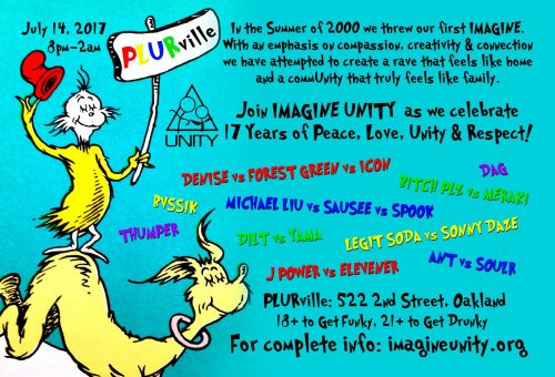 UNITY 17 Year Anniversary
